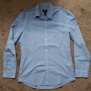 Long Sleeve Slim Fit Button Up H&M Shirt